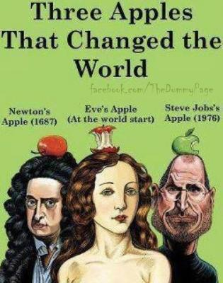 Three Apples That Changed the World