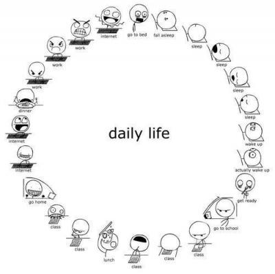 Students' Daily Routine